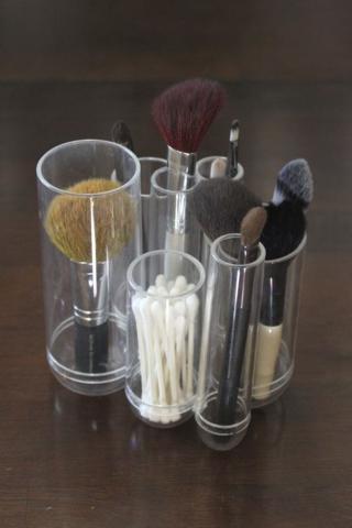 clear plastic organizer