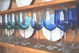 Organized plates & goblets