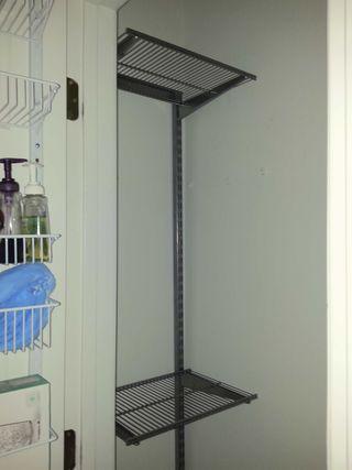 Hall closet install