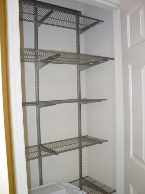 Closet After (empty)