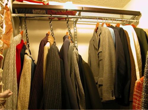 Clothes Closet After