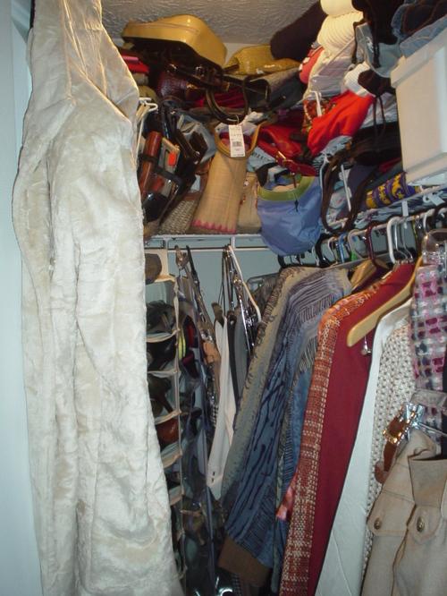 Clothes Closet Before